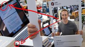 Zuckerberg'ten ses getiren fotoğraf! Laptopun kamerasını bantladı!