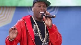 Rap şarkıcısı 50 Cent'e konser sonrasında küfür gözaltısı