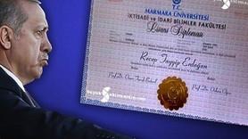 """Marmara Üniversitesi'nden """"Erdoğan'ın diploması"""" açıklaması"""