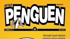 'Suriyeli mültecilere vatandaşlık' Penguen'in kapağında!