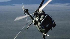 Son Dakika...Komutanları taşıyan askeri helikopter düştü!