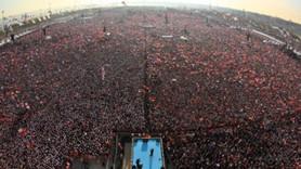 Reytinglere 'Demokrasi ve Şehitler Mitingi' damgası!