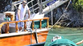Erkan Petekkaya'nın teknesi yandı, ailesi ölümden döndü!