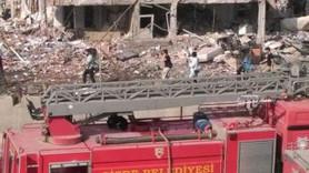 Cizre'de bombalı terör saldırısı; 11 şehit, 78 yaralı