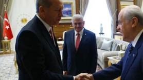 Cumhurbaşkanı Erdoğan, Bahçeli'nin mesajlarını retweet etti!