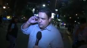 Canlı yayında CNN muhabirine şok saldırı!