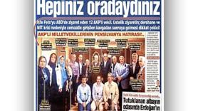 Ahmet Hakan'dan Gülen'e giden AKP milletvekillerine: Sizi kim kandırdı, elini de öptünüz mü?