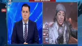Kanal D muhabiri Fulya Öztürk'ün zor anları! Yüz felci geçiriyordu!