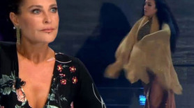 Yetenek Sizsiniz'de yarışmacı soyundu, Hülya Avşar'ın gözleri faltaşı gibi açıldı!