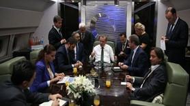 Cumhurbaşkanı Erdoğan O gazeteciyi neden uçakta istemedi?