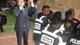 Latif Doğan konserinde biber gazlı müdahale!