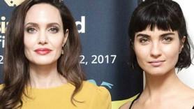 Tuba Büyüküstün'ün güzelliği Angelina Jolie'ye gölgede bıraktı!