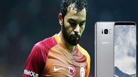 Galatasaraylı Selçuk İnan, Samsung'a dava açtı: S8 telefonlar imha edilsin!