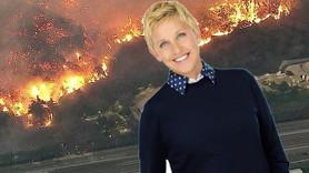 Ünlü sunucuya yangın şoku! Canını zor kurtardı!