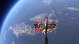 Canlı yayında sıra dışı anlar! Beyazıt Öztürk'ü uzaya fırlattılar!