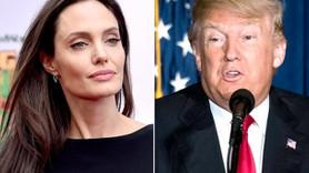 Angelina Jolie'den Trump'a tepki!