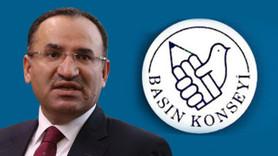 Basın Konseyi'nden Adalet Bakanı Bekir Bozdağ'a mektup!