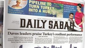 Daily Sabah'ın Avrupa Parlamentosu'nda dağıtımı yasaklandı!