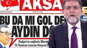 Ahmet Hakan'dan Akşam'a yaylım ateş: Arsız, yalancı!