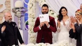 Efsane damat Caner nihayet evlendi! Gözyaşlarını tutamadı!