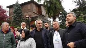 80 ilden gelen gazeteciler Erdoğan'ın evini ziyaret etti!