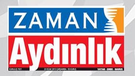 """Zaman iddianamesinde Aydınlık'a """"FETÖ"""" suçlaması! Gazeteden sert yanıt var!"""