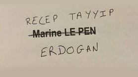 Fransa'daki seçimlerde sandıktan 'Erdoğan' çıktı!
