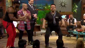 Beyaz Show'da Bülent Serttaş'tan çılgın dans!