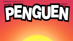 Penguen Dergisi bu kapakla veda etti!