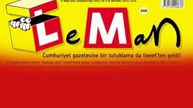 Leman'dan tutuklanan gazeteci Oğuz Güven kapağı