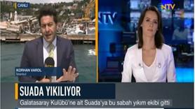Hıncal Uluç NTV ve muhabirine fena saydırdı: Cahil, hukuk cahili, gazetecilik cahili, yayıncılık cah