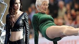 Defne Samyeli'nin hedefi: 92 yaşındaki jimnastikçi gibi olmak!