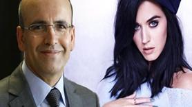 Başbakan Yardımcısı Şimşek'ten esprili 'Katy Perry' mesajı!