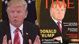 Trump'tan sahte Time kapağı!