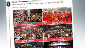 Başakşehir ile Sevilla atışması sosyal medyayı salladı!