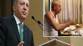 Erdoğan'dan Hürriyet ve Kılıçdaroğlu'na 'atletli fotoğraf' tepkisi