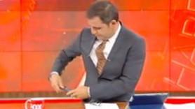 Fatih Portakal'a canlı yayında telefon sürprizi: Hata bende!