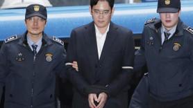 Samsung'un veliahtı 'rüşvet suçlaması'yla tutuklandı!