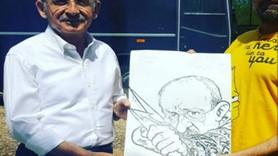 Leman'dan Kemal Kılıçdaroğlu'na karikatür hediyesi