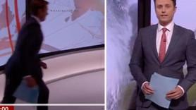 BBC sunucusu canlı yayında kamerayı bulamadı, koşturarak aradı!