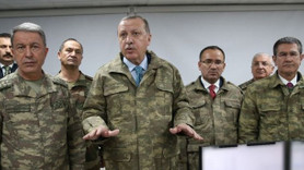 Türk basınında 'Başkomutan sınırda' manşetleri: İlk hedefiniz Afrin!