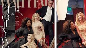 Vanity Fair'de photoshop skandalı: Oprah Winfrey'in üç eli, Reese Witherspoon'un üç bacağı var!