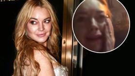 Mülteci aile, çocuklarını almayı teklif eden Lindsay Lohan'ı dövdü