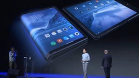 İşte dünyanın ilk ekranı katlanabilen akıllı telefonu!