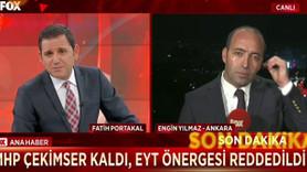 Fatih Portakal'ın kravat konusu tatlıya bağlandı!