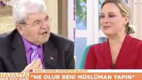 Canlı yayında Müslüman oldu: İslam'ın nurundan gerçekten gözlerim kör oldu!