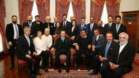 Cumhurbaşkanı Erdoğan'a ünlü isimlerden doğum günü ziyareti!
