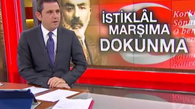 Fatih Portakal'dan Erdoğan'a tepki: İstiklal Marşımıza dokunma!