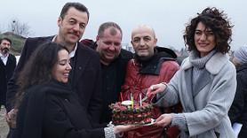 Hande Subaşı'na sette sürpriz doğum günü partisi! (Medyaradar/Özel)
