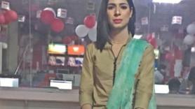 Pakistan'ın ilk trans haber spikeri!